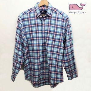 Vineyard Vines Murray Button-down Plaid Shirt - S